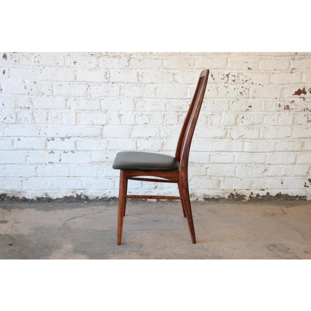 Niels Koefoed for Koefoeds Hornslet Eva Rosewood Dining Chairs- Set of 6 - Image 10 of 11