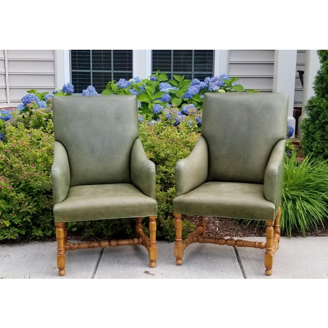 Rose Tarlow Melrose House Armchairs - a Pair For Sale - Image 10 of 10
