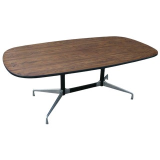 Eames Aluminum Group Table For Sale