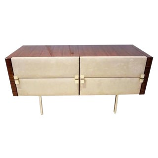 Roger Landault Modernist Dresser/Vanity in Rosewood For Sale