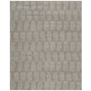 Stark Studio Rugs Contemporary Oriental Bamboo Silk Rug - 4' X 12' For Sale