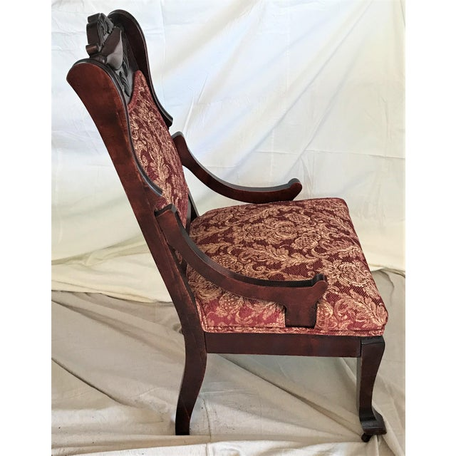 Empire Revival His & Hers Chairs - a Pair - Image 11 of 11