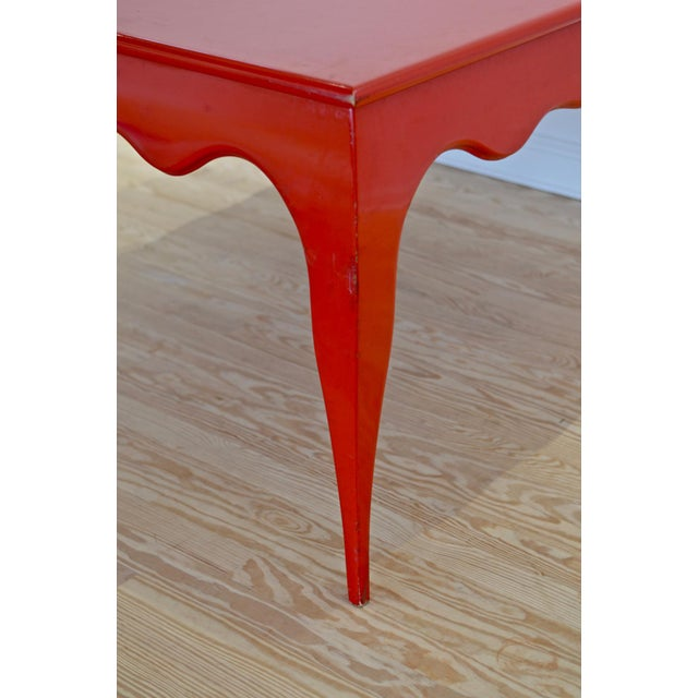 Large Scale Square Dining Table With Cabriole Legs - Image 3 of 8
