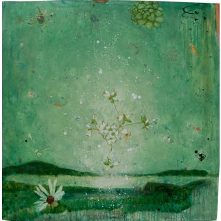Eleanor Miller Visible Angelic Landscape Painting For Sale