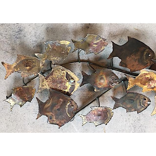 Curtis Jere Style Fish Wall Sculpture - Image 3 of 6