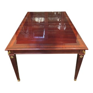 Neoclassical Rectangle Dining Table For Sale