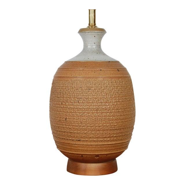 Studio Ceramic Lamp by Phil Barkdoll - Image 1 of 8
