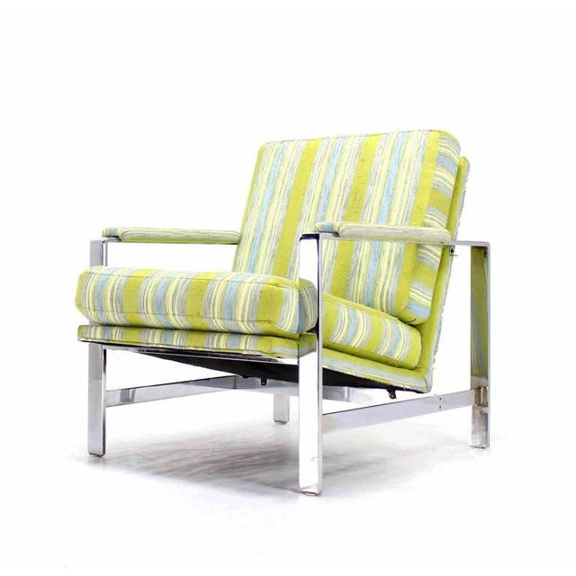 Mid-Century Modern Lounge Chair For Sale In New York - Image 6 of 6