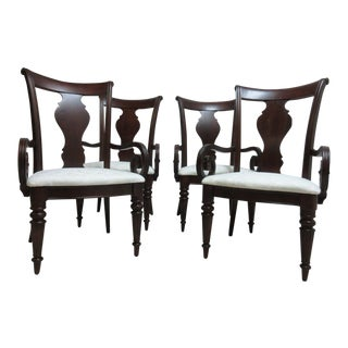 Pennsylvania House Cherry Admiral Cortland Manor Dining Chairs - Set of 4