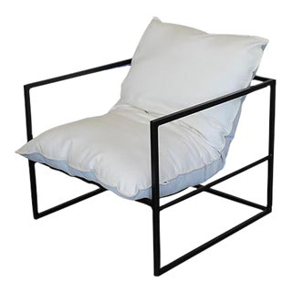 Vesta Eloi Outdoor Dining Chair in Black For Sale