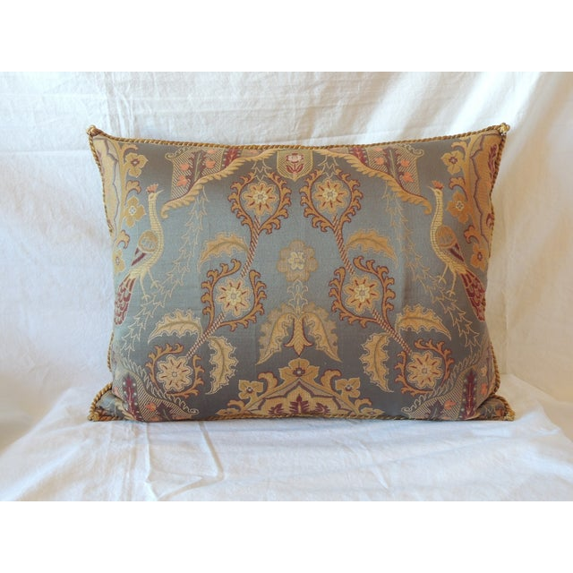 Vintage Brocaded Textile Silk Pillow. - Image 2 of 5