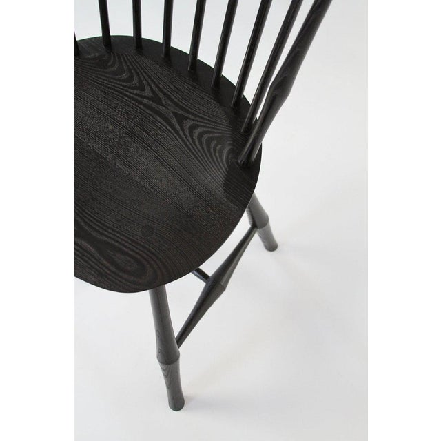 O&G Studio O & G Studio Windsor Dining Chair in Ebony, 25+ Available For Sale - Image 4 of 10