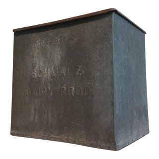 Schmalz Metal Dairy Box