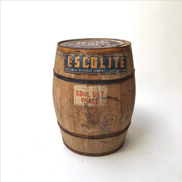 Antique Laundry Detergent Barrel - Image 7 of 9