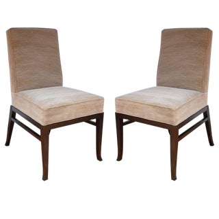 Vintage Mid Century Side Chairs- a Pair For Sale