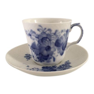 Vintage Royal Copenhagen Demitasse Cup & Saucer - A Pair For Sale
