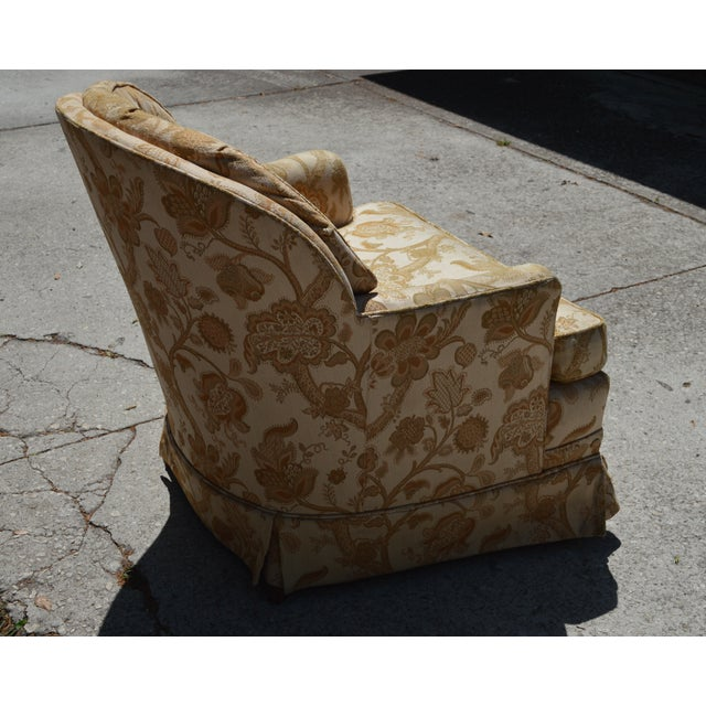 Woodmark Originals Tree of Life Barrel Back Chair - Image 7 of 9