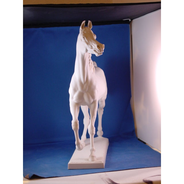 Ceramic 1960s Vintage Arabian Horse Sculpture For Sale - Image 7 of 13