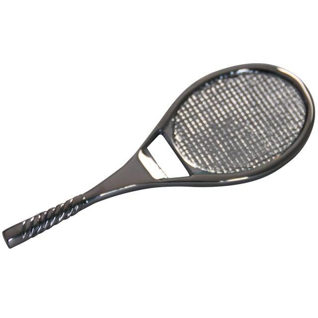 Chrome Tennis Racket Bottle Opener - Image 1 of 3