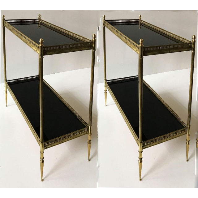 Vintage Maison Jansen Side Tables - A Pair For Sale In Miami - Image 6 of 6