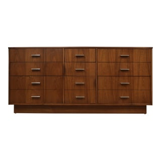 Dixie Walnut Modern Dresser