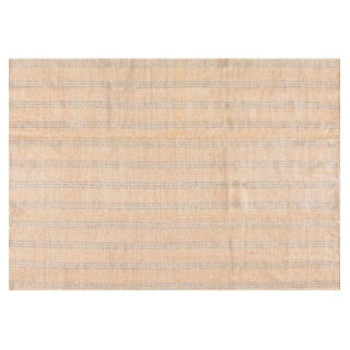 Stark Studio Rugs Traditional Flat Woven Wool Rug - 6′2″ × 8′10″ For Sale