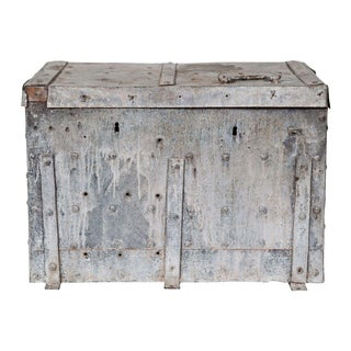 Galvanized Zinc Trunk For Sale