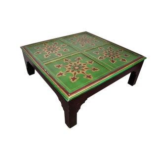 Vintage Egyptian Handmade Coffee Table For Sale