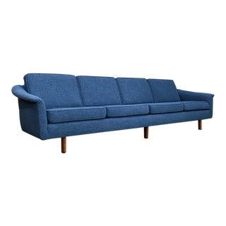 Royal Blue Tweed Folke Ohlsson Sofa for Dux