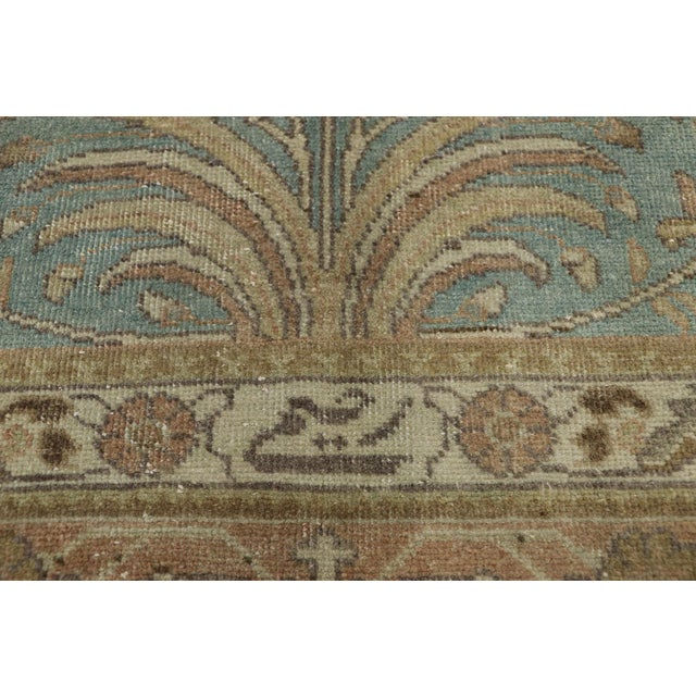 Vintage Tabriz Rug With Gustavian Style - 09'09 X 12'07 For Sale - Image 4 of 10