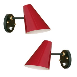 Jacques Biny Wall Lamps - a Pair For Sale
