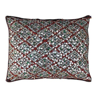 Moroccan Berber Sequin Pillow Cover For Sale