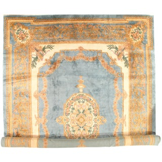 "Pasargad Antique Persian Royal Kerman Hand-Knotted Rug - 11′6"" × 16"" For Sale"