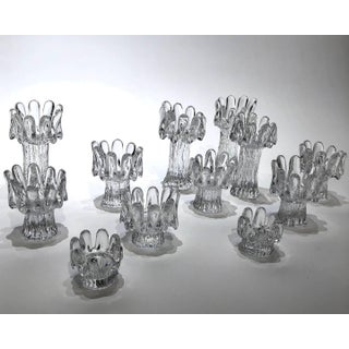 Set of 12 Crystal Candleholders Preview