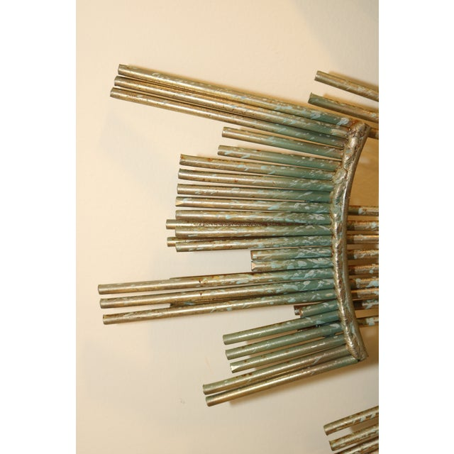 Metal 1980s Curtis Jere Retro Modern Abstract Wall Sculpture For Sale - Image 7 of 13