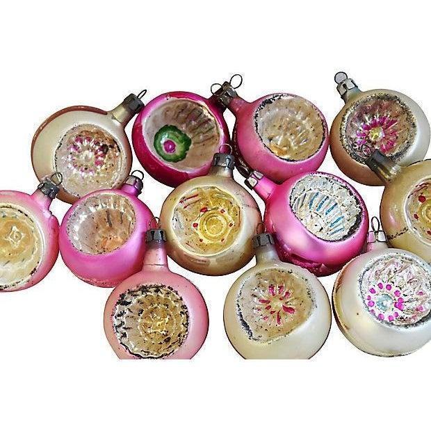 Vintage Fancy European Christmas Ornaments w/Box - Set of 12 - Image 4 of 8