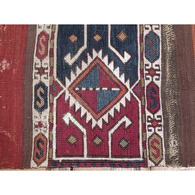 """Mid 19th Century Antique """"Grain Sack"""" (open) For Sale - Image 5 of 7"""