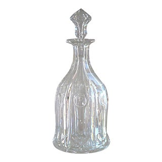 Antique Bohemian Crystal Decanter