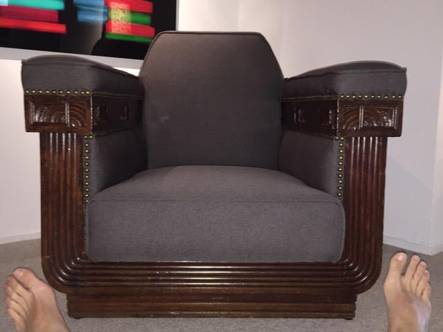Shanghai Art Deco Chairs   A Pair   Image 4 Of 11