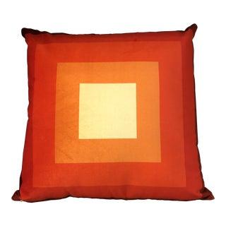Geometric Pattern Print Velvet Pillow For Sale