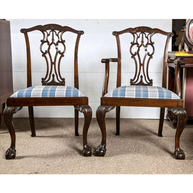 Chippendale Dining Chairs - Set of 8 - Image 2 of 9
