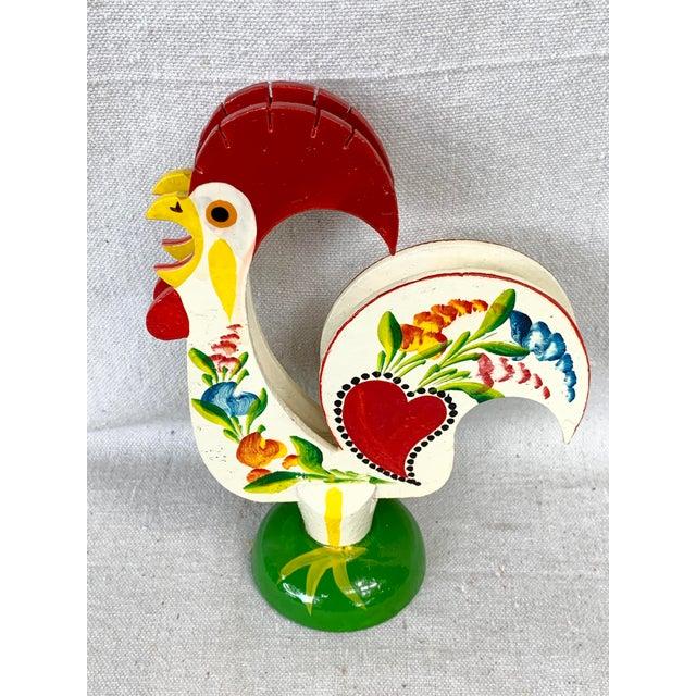 Farmhouse Vintage Rooster Napkin Holder For Sale - Image 3 of 8