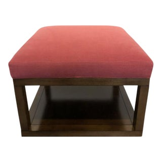 Century Furniture Redford Small Square Ottoman For Sale