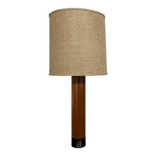 Mid-Century Teak Table Lamp by Esa - Made in Denmark For Sale