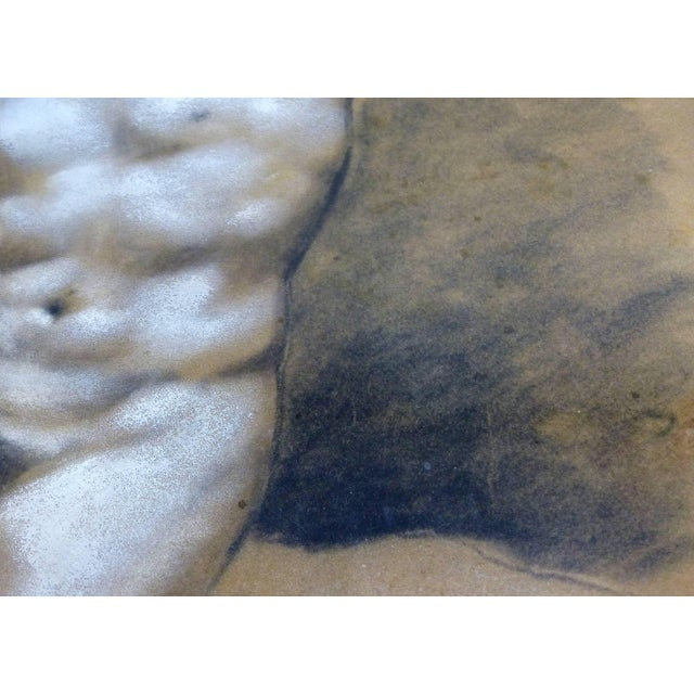 Drawings of Male Nude Figures Attributed to Francois Boucher, Circa 1750 - a Pair For Sale In Miami - Image 6 of 11