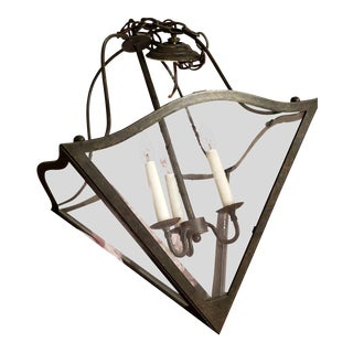 Dennis & Leen Iron Paul Revere Lantern For Sale