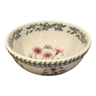 1990s Traditional Floral Portmeirion Bowl