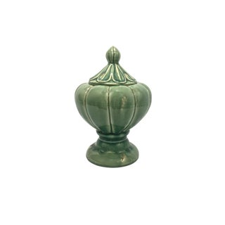 Green Covered Jar For Sale
