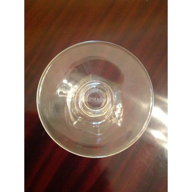 Gorham Silver Co. 1950s Vintage Crystal Goblets - Set of 8 For Sale - Image 4 of 8