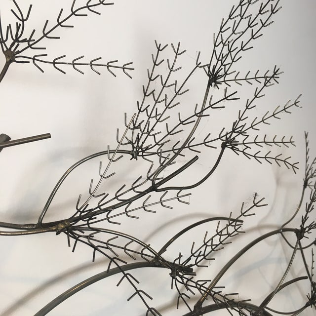 Curtis Jere Wheat Willow Wall Art Sculpture For Sale - Image 5 of 8